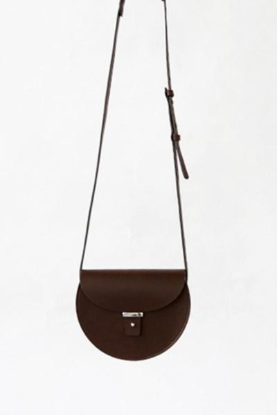 f2studio—SADDLE SHAPE SHOULDER BAG