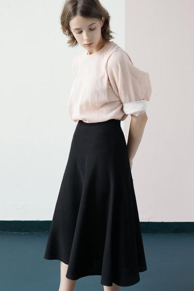 ZIJUE - BASIC LONG SKIRT